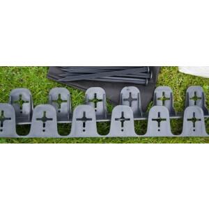 Muruääris 60mm / 100cm must (tugev ja painutatav) 11