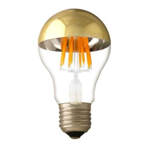 LED lambipirn E27 kuldse detailiga 4W 2700K 6