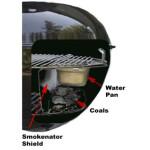 KettlePizza - Smokenator Weber'i 57cm grillidele 2