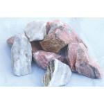 Dekoratiivkivi purustatud marmor roosa 60/120 500kg bigbag 1