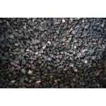 Dekoratiivkillustik graniit must-kirju 6/12 1000kg bigbag 1