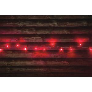Valguskett punane, 80 LED lampi 7