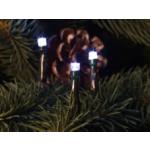 Valguskett 200 LED lampi külmvalge, sisse/õue 1