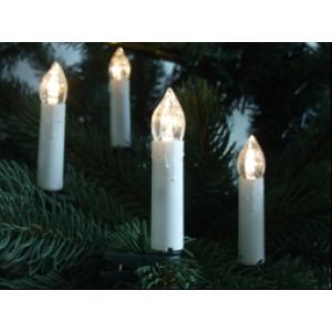 Valgusküünlad 20 LED lampi, tuppa 18