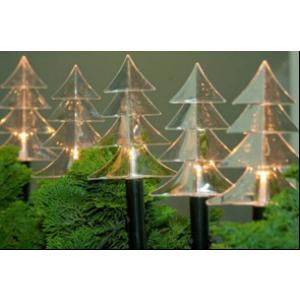 Valgusdekoratsioon 'Kuused'', 6 LED lampi soevalge, 25cm 16
