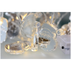 Valguskett 'Jõuluvana'' 10 LED lampi 16