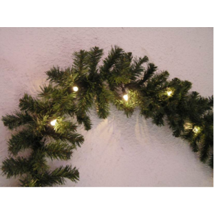 Vanik tuledega 40 LED lampi, soevalge, 2,7m sisse/õue 20
