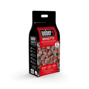 Weber® grillbrikett 8 kg 4