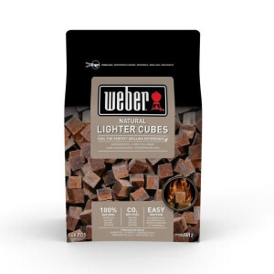 Weber® Natural ligher Cubes FSC 3