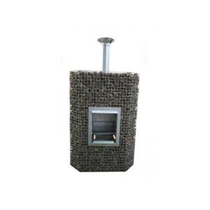 Kamin-grill dekoratiivkividele 0,95 x 2 x 0,55 8