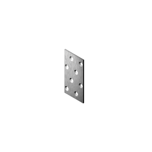 Plaat 60x25x2.0 fers.valge 64
