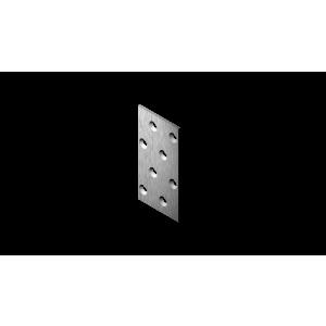 Plaat 80x40x2.0 fers. 58