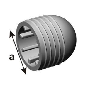 Toruots pehme PVC 22mm 3