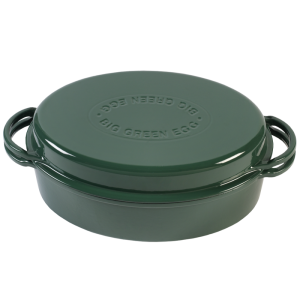 "Malmpott Big Green Egg ""Dutch oven"", ovaalne,roheline 5,2l AM2 4"