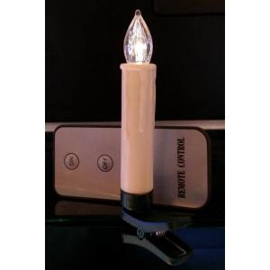 LED küünlad  soevalge 10tk,10cm,Ø1,35cm puldiga, juhtmeta 16