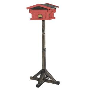 Linnumaja jalaga punane 110cm 7