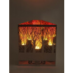 Dekoratsioonlamp Metall, Firebox Mets 2