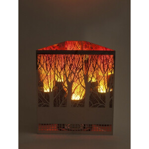 Dekoratsioonlamp Metall, Firebox Mets 7