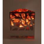 Dekoratsioonlamp Metall, Brazier Kandiline Mets 1