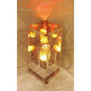 Dekoratsioonlamp Metall, Brazier Kandiline Mets 8