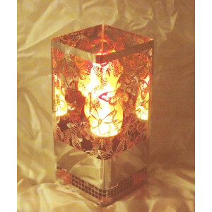 Dekoratsioonlamp Metall, Brazier Kandiline Liblikas 1