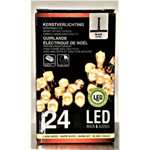 Valguskett 24 LED taimeriga 9