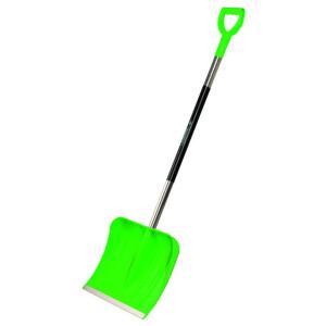 Plastikust lumelabidas roheline 5