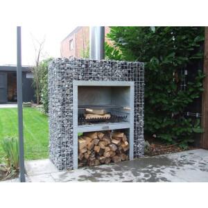 Kamin-grill dekoratiivkividele 1,20x1,30x0,50 9