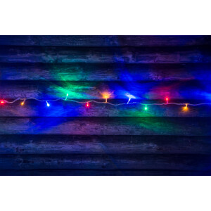 Valguskett multicolor, 40 LED lampi 12