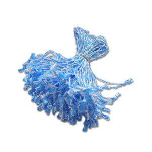 Vorsti sidumise aasad 11cm sinine-valge 1000tk 8