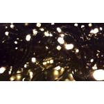 Valguskett 50 LED lampi soevalge, sisse/õue 1