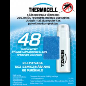 Thermacell sääsepeletaja täitekomplekt 48 tundi AM58 7