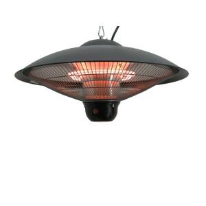 Infrapuna soojuskiirgur Veltron UFO Ceiling-LED must 2,1kW 12