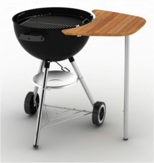 Weber® Charcoal work table 8