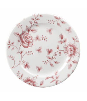 Churchill Cranberry Rose taldrik, 17cm 13