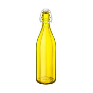 Klaaspudel Bormioli Rocco Oxford, 1,0l, kollane 6
