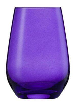 Vina Spots veeklaas, 38,5cl, lilla 6