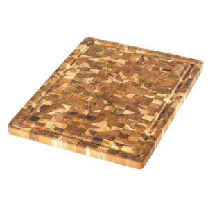 Lõikelaud Teakhaus Scandi 802, 45,7x35,5 cm (ristikiud, mahlasoon) 4