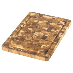 Lõikelaud Teakhaus Scandi 801, 35,5x25,4 cm (ristikiud, mahlasoon) 10