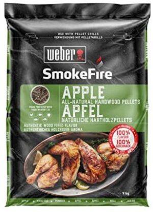 Weber Grillipellet - õunapuu, 9kg (UUS!) 17